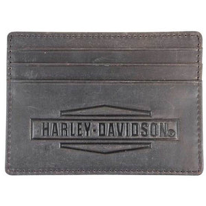 Men's Crazy Horse Front Pocket Leather Wallet MCH8489