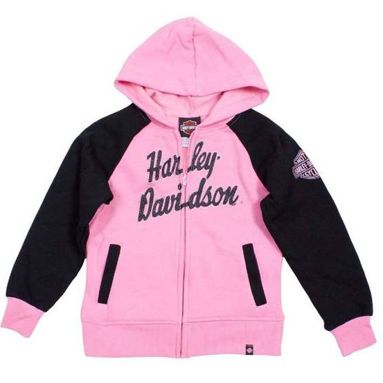Little Girls' HD Fleece Full-Zip Hooded Sweatshirt 0331588