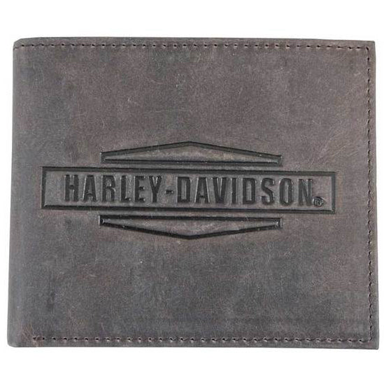 Mens Crazy Horse Leather Billfold Wallet MCH8450