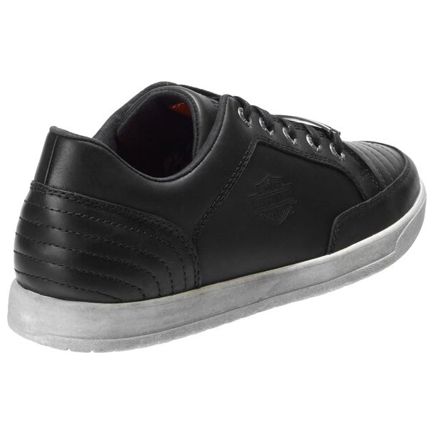 Men's Holmes Black Lifestyle Leather Sneakers D93628