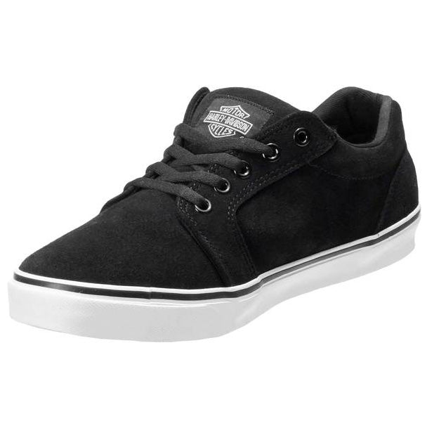 Men's Tompkins Black Leather Sneakers D93626