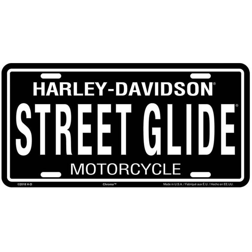 Street Glide License Plate Tag CG55041