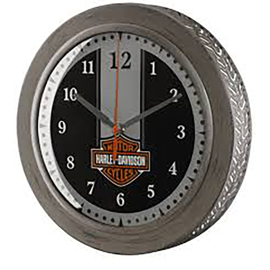 Metal Tire Tread B&S Clock HDX-99176