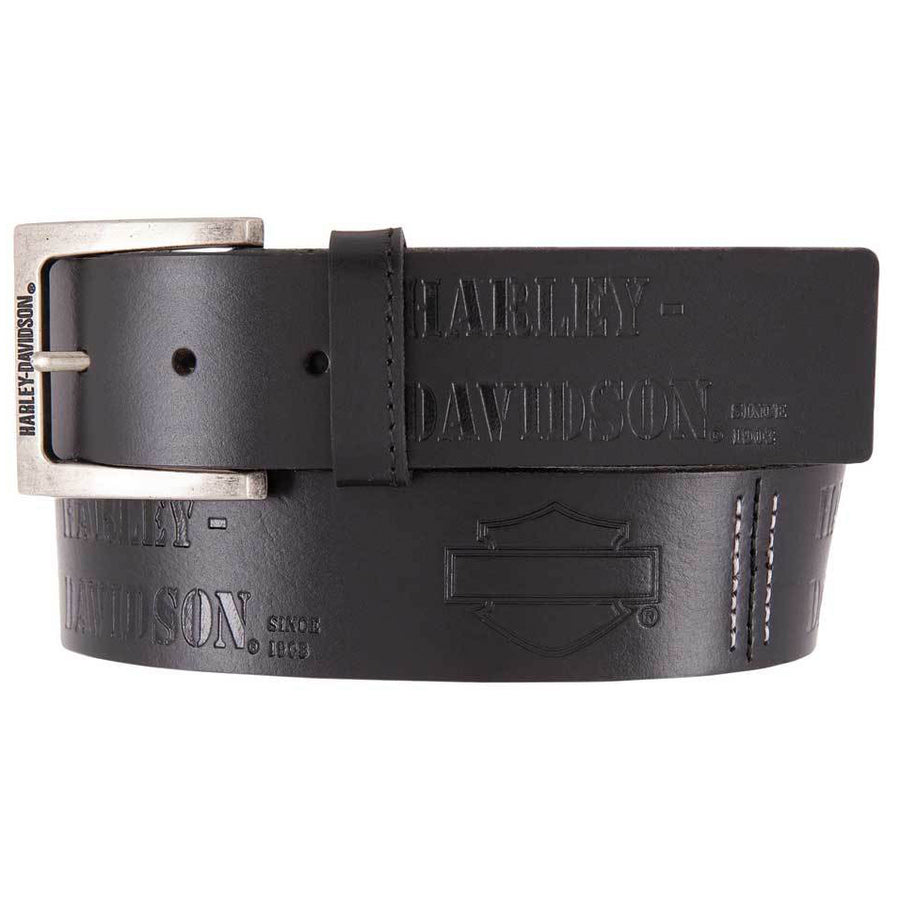 Men's Gunner Genuine Leather Belt