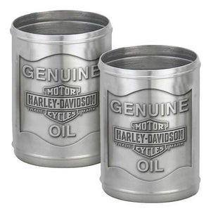 Pewter Oil Can Shot Glass Set HDL-18805