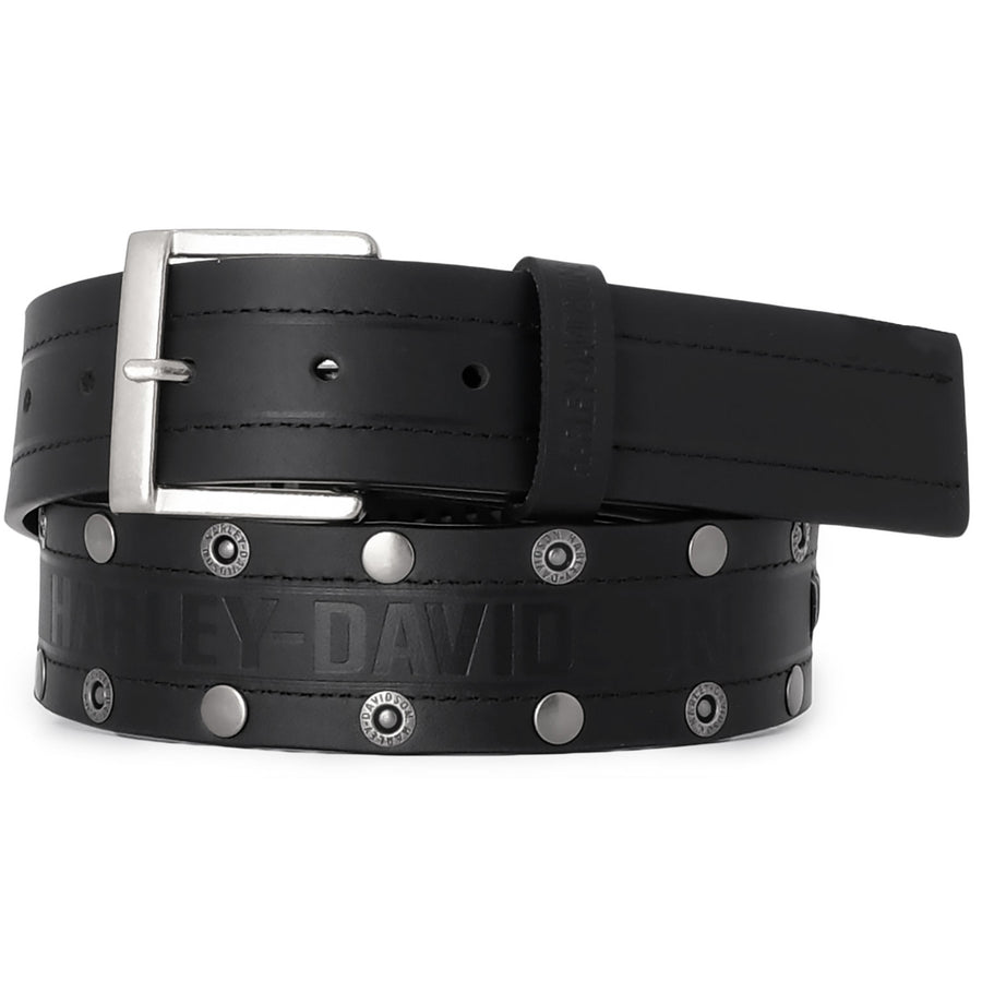 Men's Disturbance Leather Belt HDMBT11705