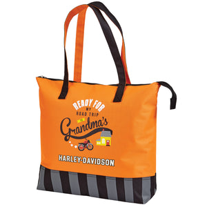 "Harley-Davidson ""Going To Grandma's"" Tote Bag 99845"