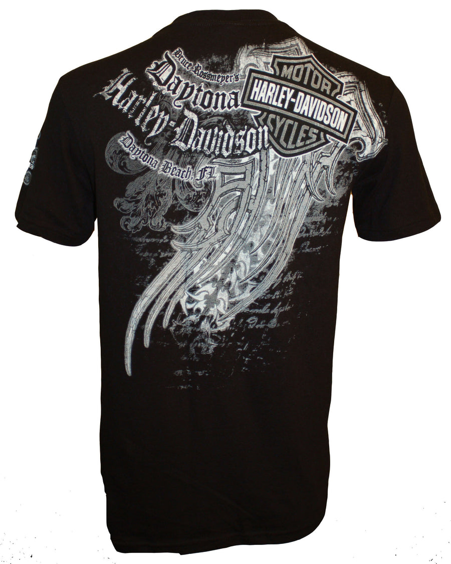 Daytona Tattoo Affliction Black S/S Tee