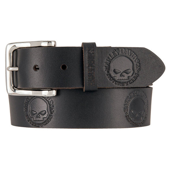 Men's Willie's World Leather Belt HDMBT11332