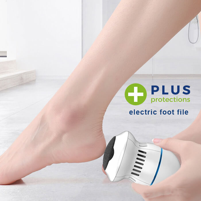 PlusProtections™ Electric Foot File