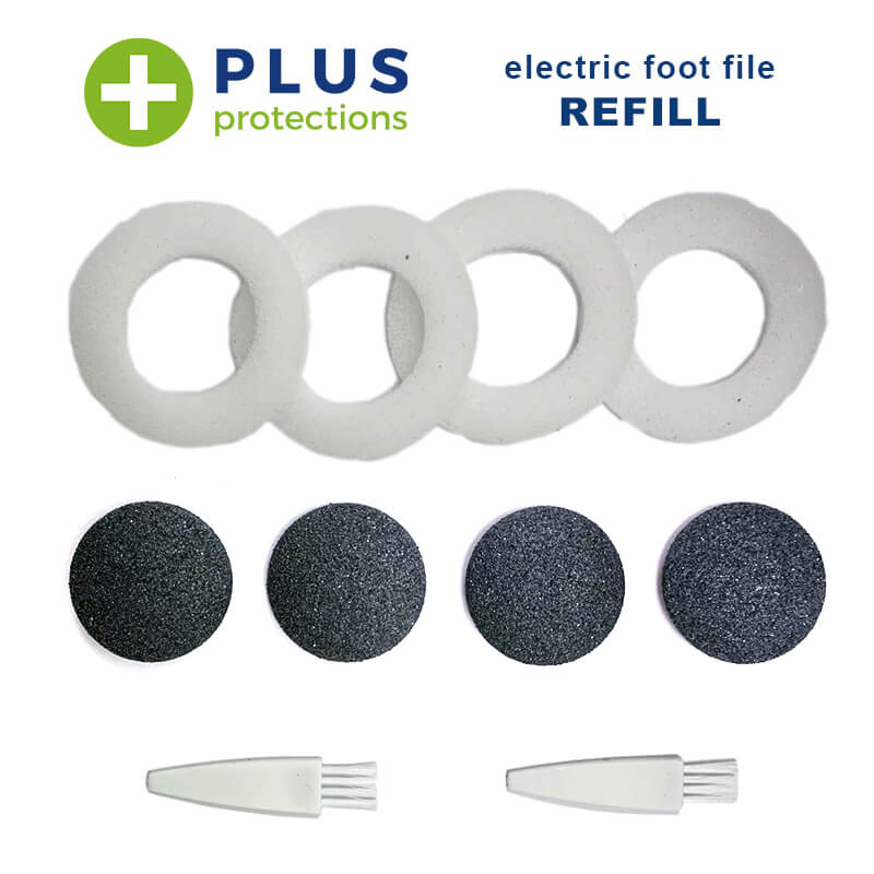 PlusProtections™ Foot File Refills