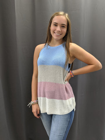 Cora Color Block Tank