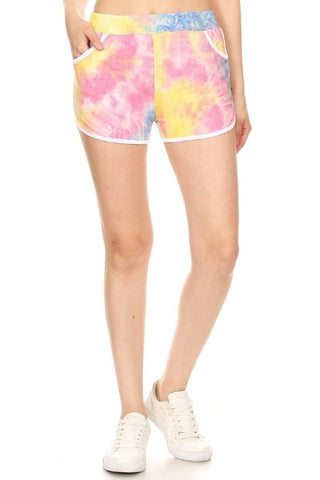 Tie Dye Sport Shorts - Medium