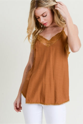Toffee Racerback Cami