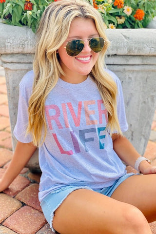 River Life Graphic Tee