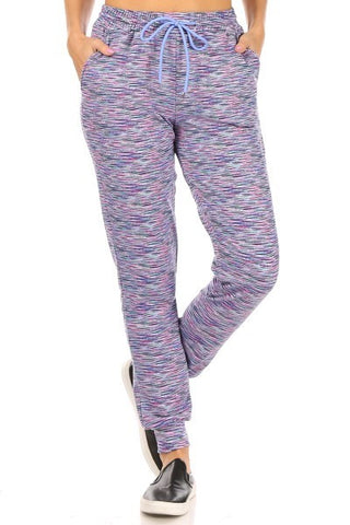 Violet Space Dye Joggers