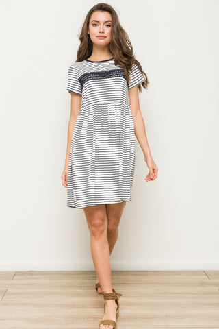 Stripe Perfect T-Shirt Dress