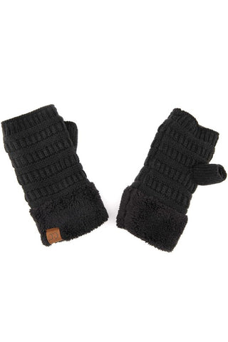 C.C Fingerless Gloves