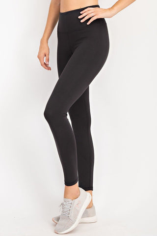 Black No Pocket Leggings