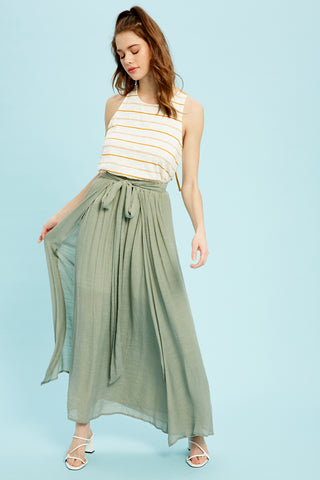 Layered Maxi Skirt - Size Small