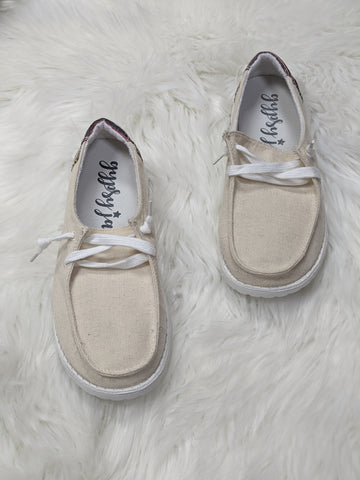 Cream Poppy Sneakers