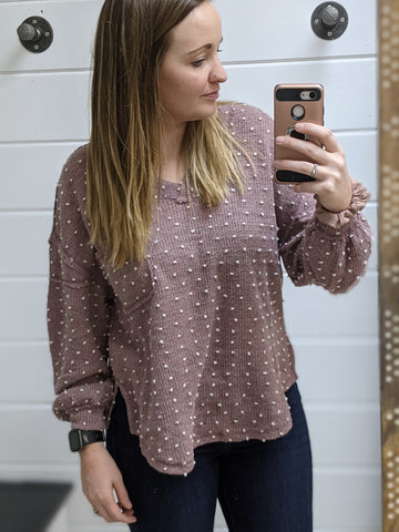Berry Dots Sweater