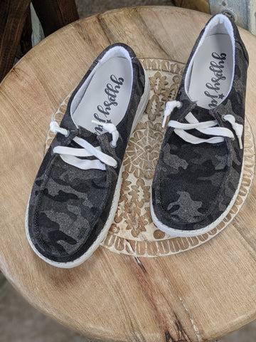 Camo Heather Sneakers