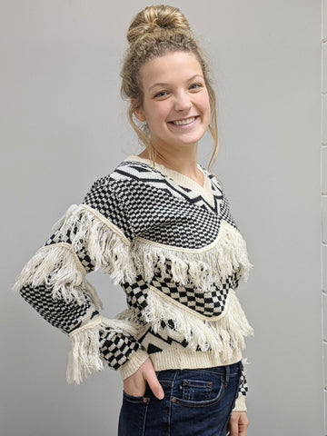 Fringe Freedom Sweater