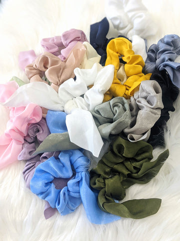 Rabbit Ear Scrunchies