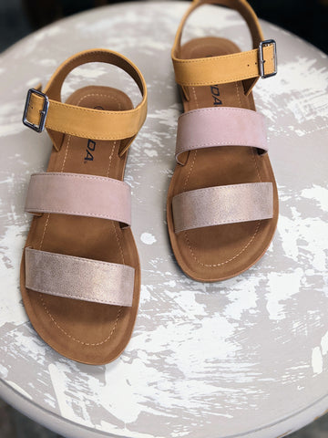 Coming Up Mango Sandals
