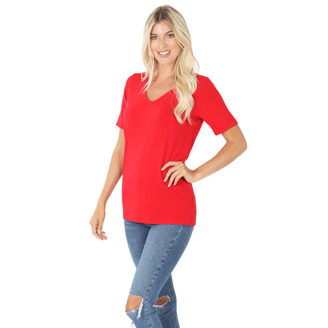 Ruby Basic V Neck