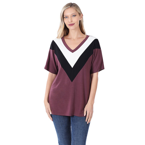 Concord Chevron Top