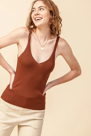 Fall Sweater Tank