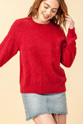 Scarlet Sweater