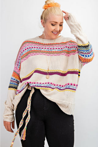 Boho Sweater - Curvy