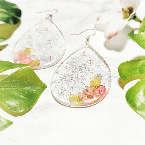 Nani Pressed Flower Earrings