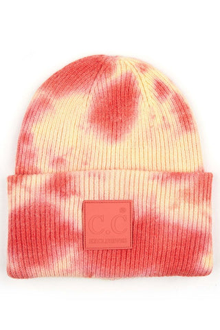 C.C Tie Dye Stocking Hat