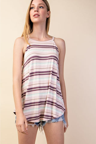 Stripe Yeah Tank - Size Medium
