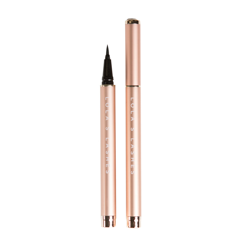 Magnetic Eyelashes and Eyeliner - Flick and Stick Adhesive Eyeliner Precision Pen Duo - Lola's Lashes