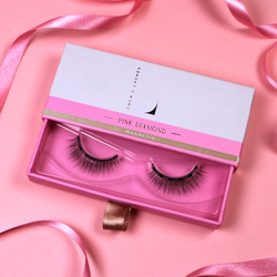 Magnetic Eyelashes and Eyeliner - Limited Edition Pink Diamond Magnetic False Eyelashes - Lola's Lashes
