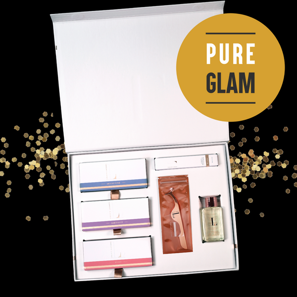 Magnetic Eyelashes and Eyeliner - Limited Edition Pure Glam Complete Collection Box - Lola's Lashes