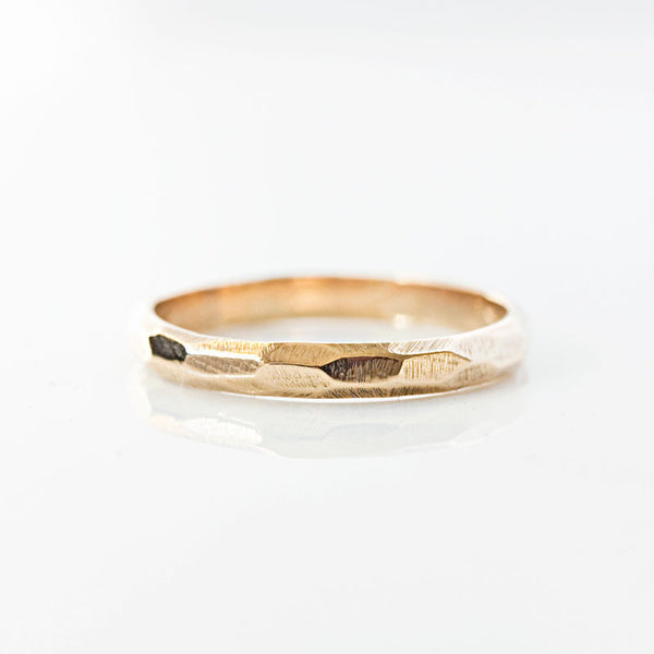 Fine Facets Ring in 14k Gold