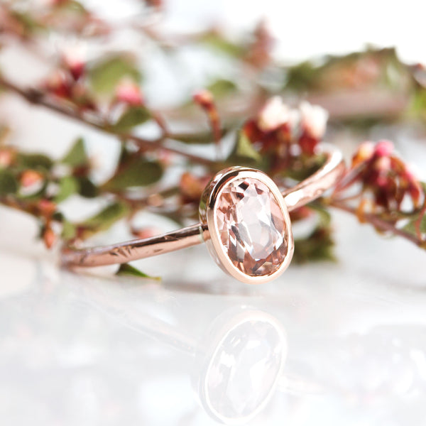 Spinel & 14k Gold Wildflower Ring