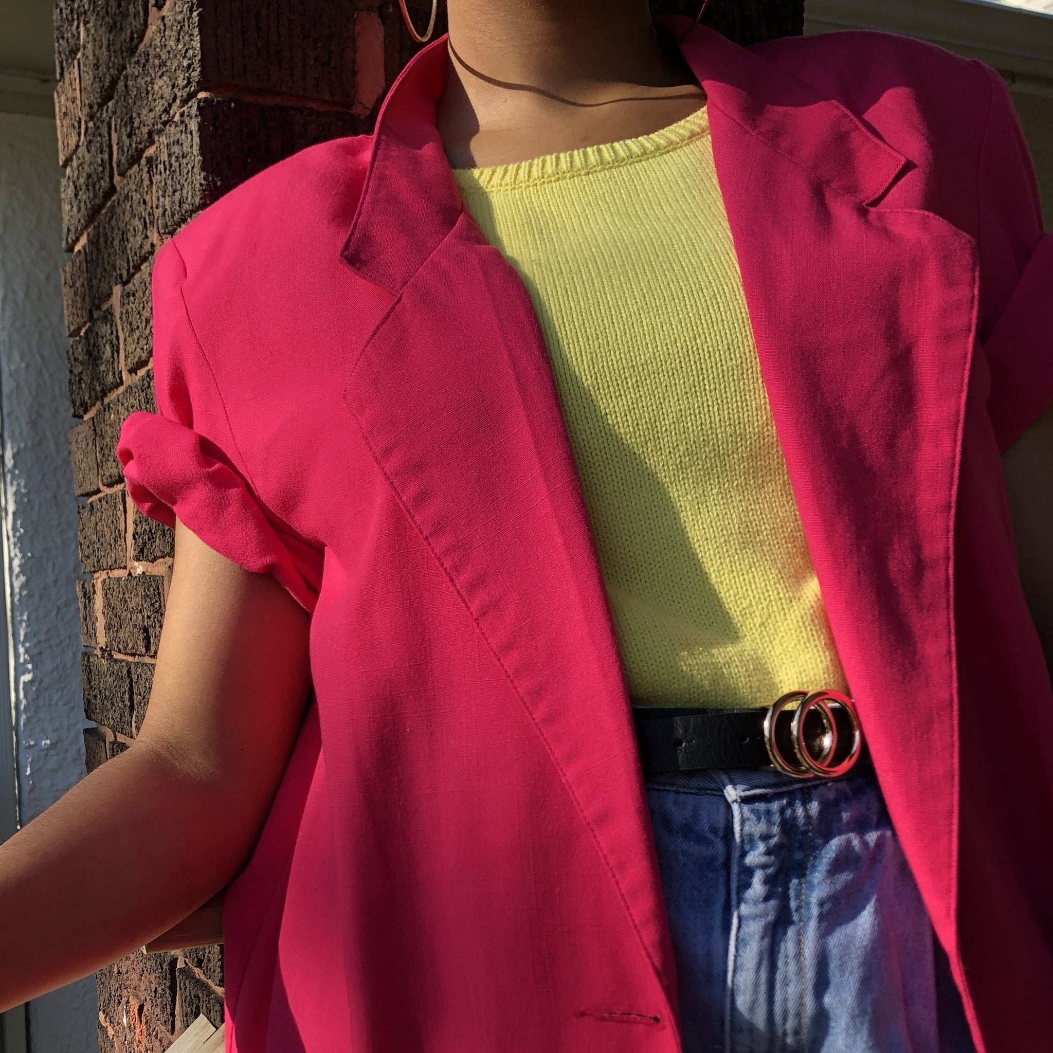 Pink Power Puff Blazer( L/XL)