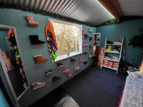 Adaptive Footwear Fitting Rooms