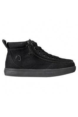 Kid's Black Billy Classic WDR High Tops (Wide)
