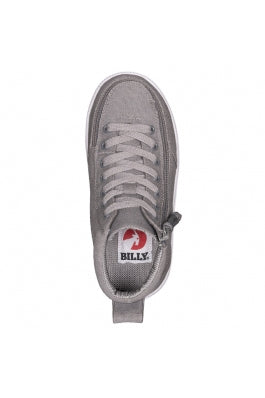 Kid's Dark Grey Billy Classic WDR High Tops (Wide)