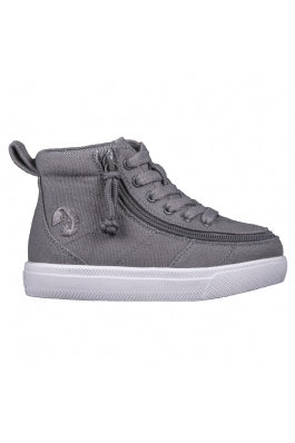 BACK ORDER Toddler Dark Grey BILLY Classic WDR High Tops (Wide) Due approx May 2021