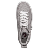 Kid's Grey Jersey BILLY Classic Lace High