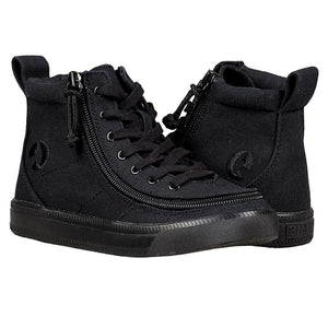 PRE-ORDER Kid's Black to the Floor BILLY Classic Lace High